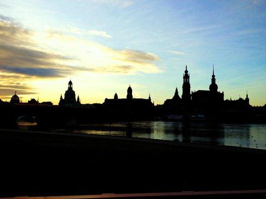 The Westin Bellevue Dresden:                   View of Dresden from hotel grounds