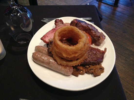 The Stage Door: Chef Special - Mixed Grill