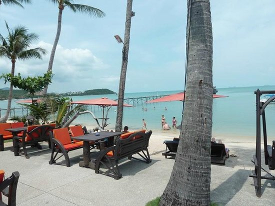 Samui Pier Resort:                   Relaxing pool and beach area