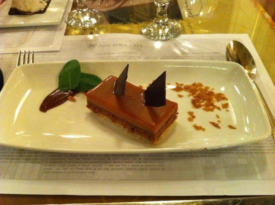 Boscolo Residence:                   Dessert