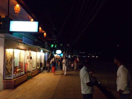 Lighthouse Beach :                                     light house beach in night view