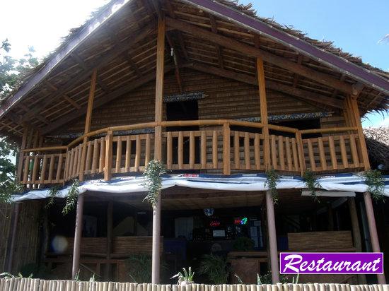 Hazel's Beach Resort: the restaurant