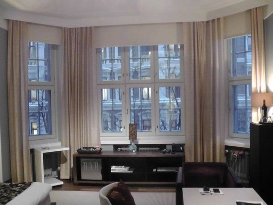 Klaus K Hotel:                   Large windows