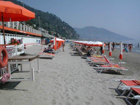 Hotel Patrizia:                   la spiaggia