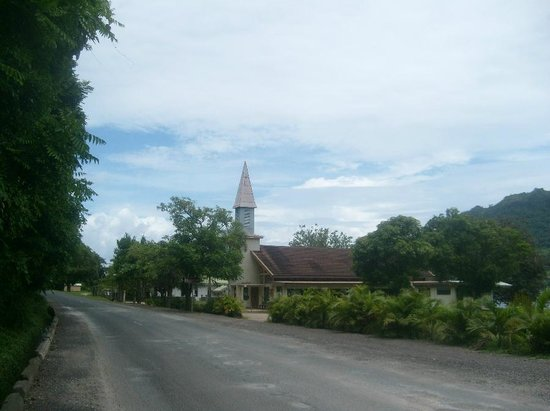 Pension Motu Iti:                   Church by PaoPao