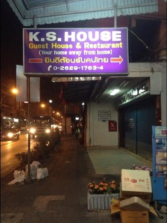 K.S. House:                                     FRONT OF HOUSE;)