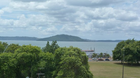 Ibis Rotorua:                   View from our room