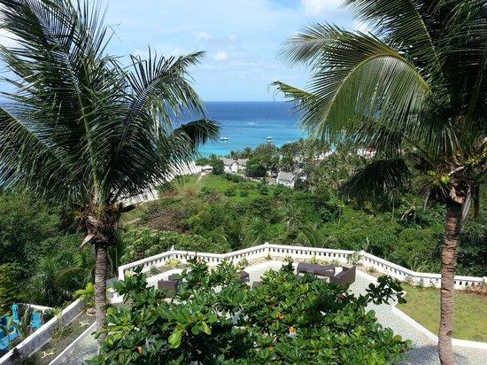 Argonauta Boracay:                                     terrace view