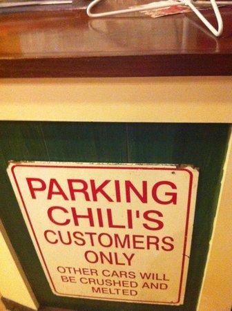 KLCC Chili's Grill & Bar : :)