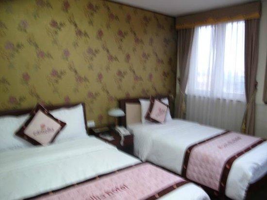 Camellia 4 Hanoi Hotel:                   部屋は広かったが、鍵の具合が悪い。