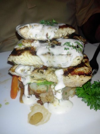 Giovanni's Cafe :                   fresh and delicious fish!