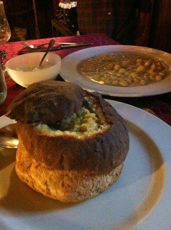 Osteria del Borgonovo :                   zuppa di verza