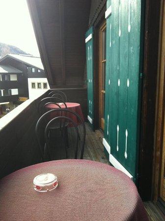 Alt Kirchheim Gasthof Pension: Balcone