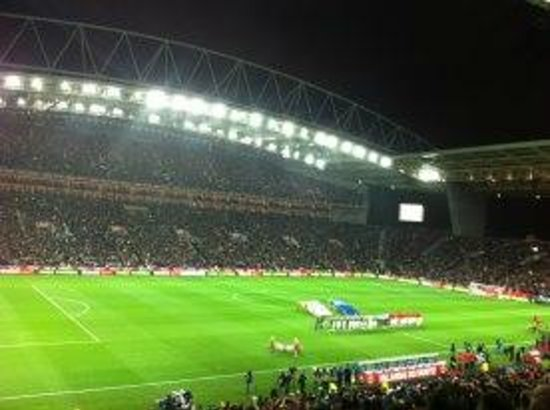 Estádio do Dragão:                   Portugal - Ireland