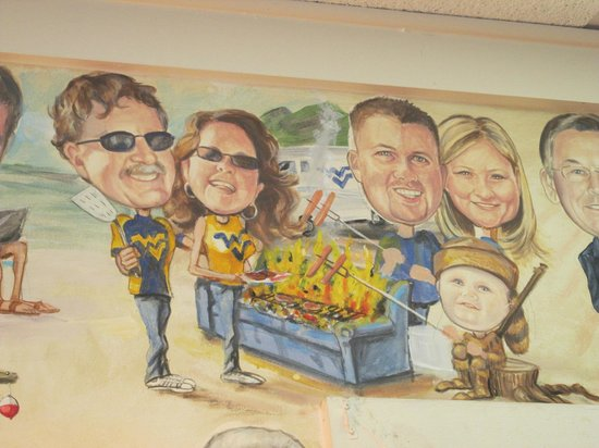 Jerry's Place Restaurant:                   Tribute to West Virginia
