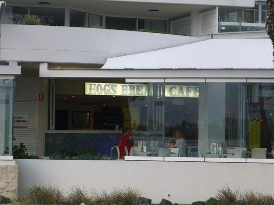 Hog's Breath Cafe:                   On the esplanade......Caloundra