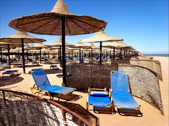 Jaz Mirabel Beach:                   Strand