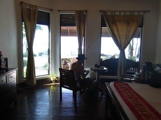 Arayaburi Resort - Phi Phi Island :                   部屋からのながめ