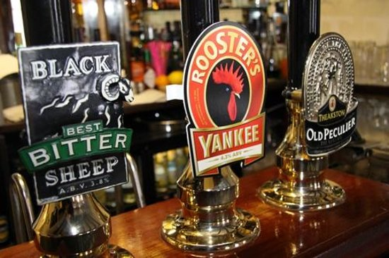 Queens Head Inn at Kettlesing: Three Well Kept Local Real Ales