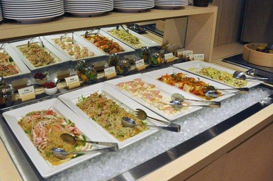 Yokohama World Porters:                   mini-Buffet area