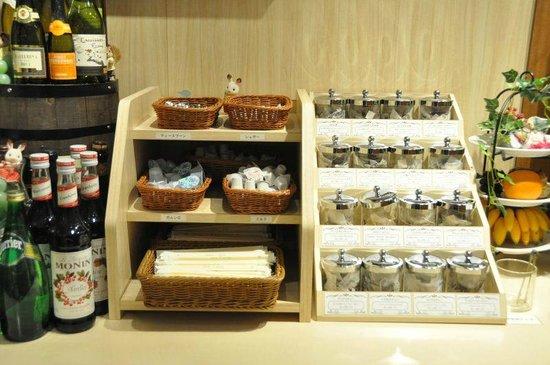 Yokohama World Porters:                   Tea selection