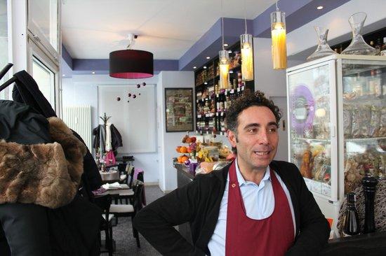 Ristorante Caffe Bocconi:                   Fabio, the one!