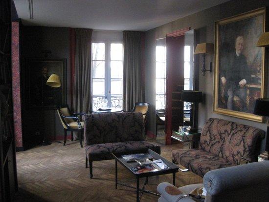 Saint James Paris - Relais et Châteaux:                   suite