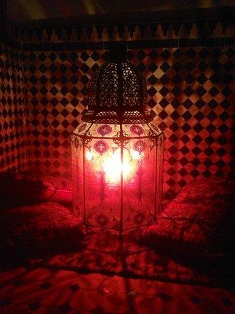 Riad Le Marocain:                   Hotel Nightime