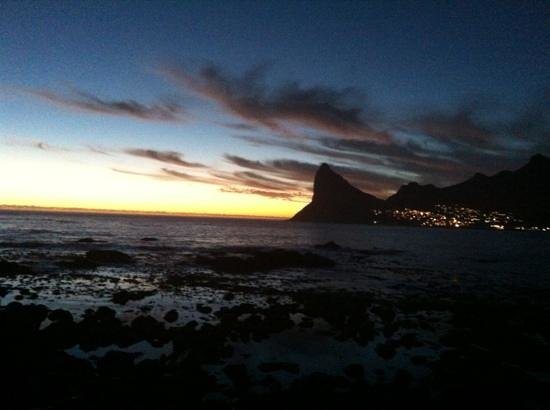 The Twelve Apostles Hotel and Spa:                   Sunset at Houks Bay - just a few minutes away.