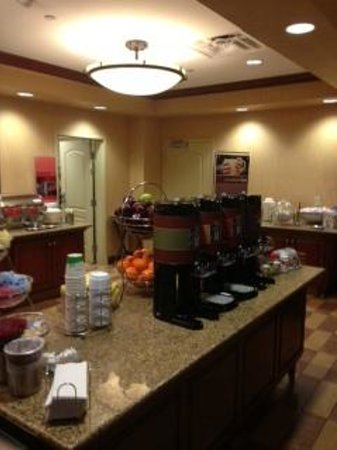 Hampton Inn & Suites St. Louis/South I-55:                   Complimentary Breakfast