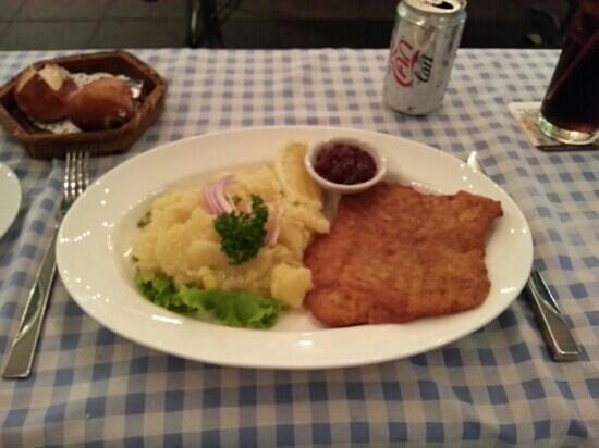 Bei Otto: schnitzel