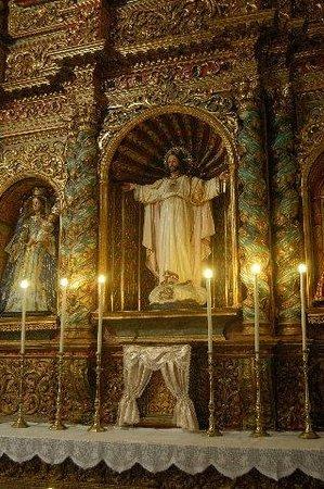 Iglesia de Nuestra Senora de la Pena Francia:                   Church interior