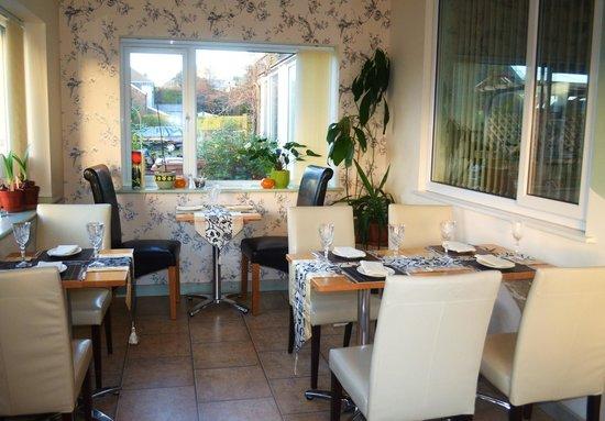 Estuary Lodge:                   dining