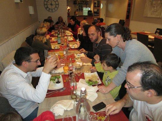 Le Gasquet: repas