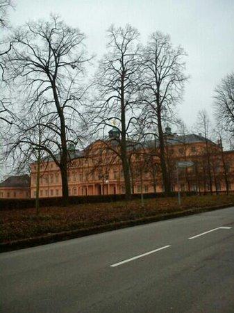 Delia B - Ansicht Schloss Rastatt
