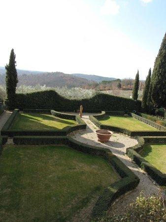 La Canonica di Cortine:                   Gardens