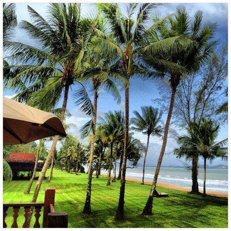 Club Med Cherating Beach:                   The view from our room.