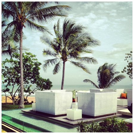 Club Med Cherating Beach:                   The Zen pool area.