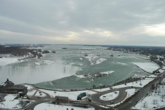 Niagara Falls Marriott Fallsview Hotel & Spa:                   Amazing view from our room