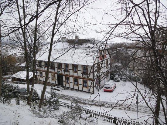 Schlossberg-Hotel:                   het Vakwerkhuis