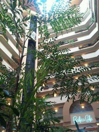 Embassy Suites by Hilton Hotel Monterey Bay - Seaside:                   Beautiful lobby area
