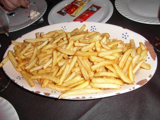 Novecento : Maxi piatto di patatine