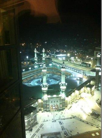 Raffles Makkah Palace:                   Al Haram view