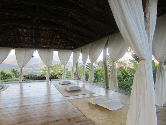 Hacienda San Lucas:                   Gaia - yoga and massage