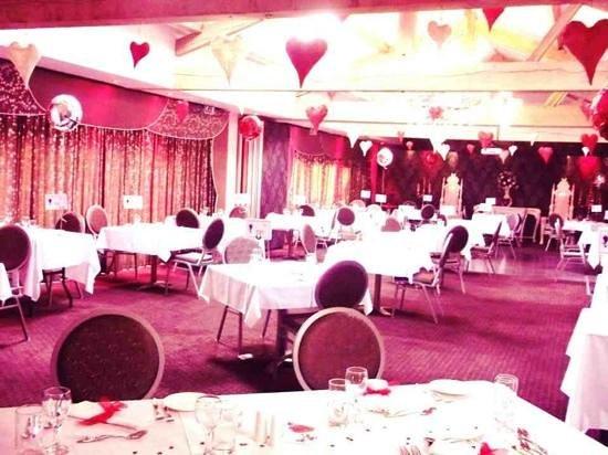 Restaurant @ Ashbourne Hotel:                   valentines day at Ashbourne