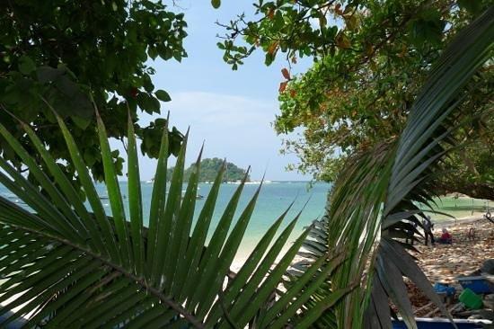 Horizon Inn:                   Aussicht auf Coral Island