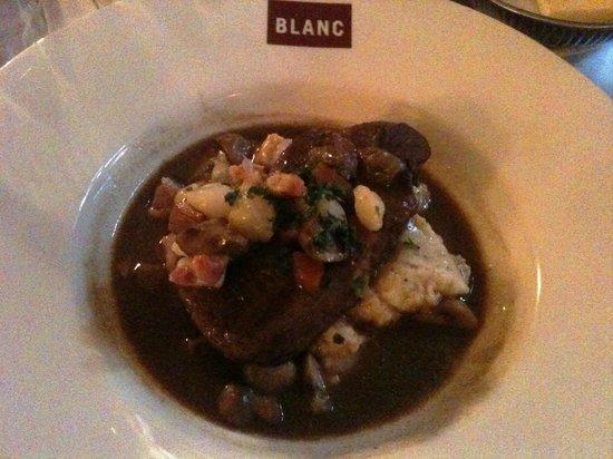 Brasserie Blanc Chancery Lane:                   Beef Bourignon