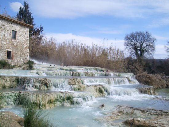 Saturnia, Italy:                   General view mulino Gorello