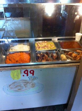 La Differencia:                                                       5 $ Lunch Special Delicous