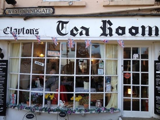 Clayton's tea rooms:                   Clayton's